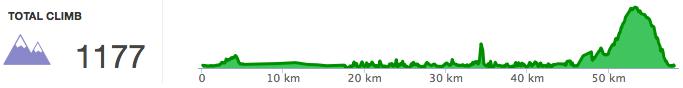 第二天騎車:實際高度